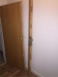 Tür kaputt